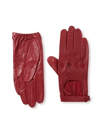 Carolina Amato Women's Classic Driver Quilted Gloves
