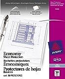 Avery Acid Free Economy Sheet Protectors, Clear, Box of 50 (74090)