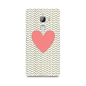 Ebby Chevron Heart Premium Printed Case For LeEco Le Max
