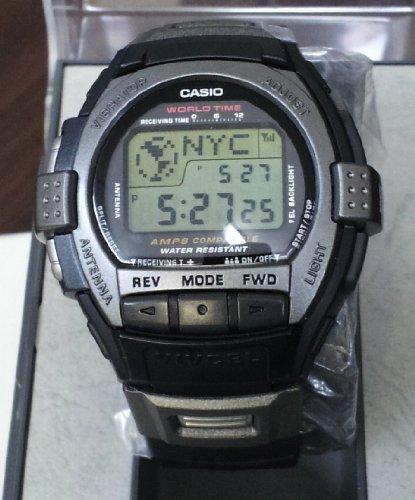 Casio Rare Vintage Cell Phone Vibration World time Alarm VIVCEL Watch VCL120-1 1