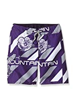 Peak Mountain Short de Baño Ecidji (Morado)