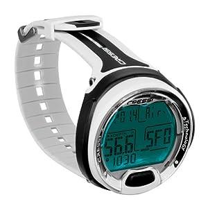 Cressi Leonardo Scuba Dive Computer Wrist Watch ( White/Sliver)