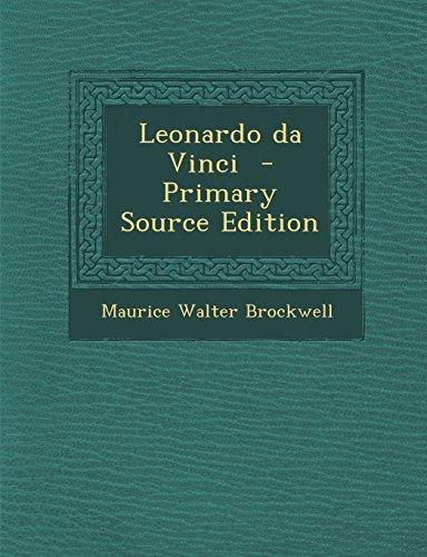 Leonardo Da Vinci - Primary Source Edition front-941020