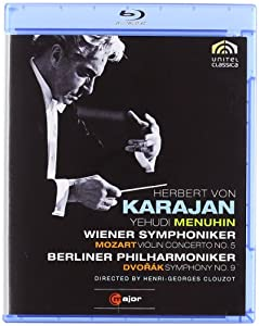 Mozart Dvorak Karajan Violin Concerto No5 Symphony No9 Blu-ray 2010 by C Major