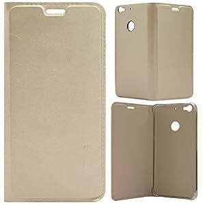 PES Premium PU Leather Flip Cover Case for LeEco Le Tv Le 1s Le1s / LeEco Le 1s Eco - Gold