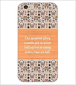 PrintDhaba Quote D-3689 Back Case Cover for APPLE IPHONE 6S (Multi-Coloured)