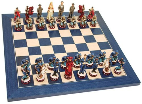 Buy Civil War Chess Set – 19″