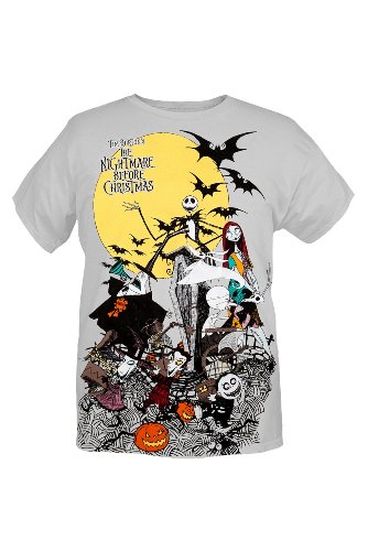 the nightmare before christmas parade t shirt 2xl
