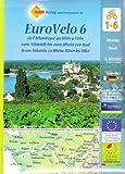 echange, troc Huber Verlag - EuroVelo 6 : De l'Atlantique au Rhin à vélo 1/100 000