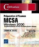 echange, troc Philippe Mathon - Windows 2000 - Implémentation d'une infrastructure réseau - Examen 70-216