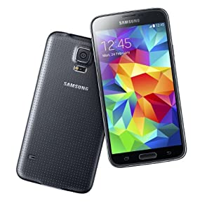 Samsung Galaxy S5 SM-G900H Factory Unlocked- international Version BLACK