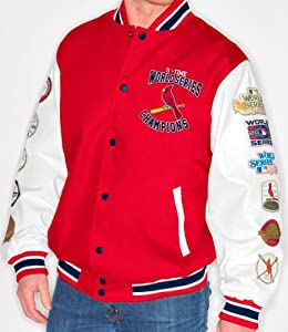 St. Louis Cardinals MLB High Post World Series Commemorative Canvas Jacket by G-III Sports