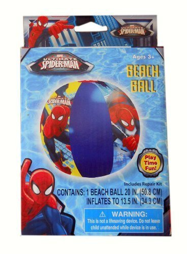 Ultimate Spider-Man Beach Ball