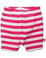 Zutano Baby Girls' Primary Stripe Bike Shorts