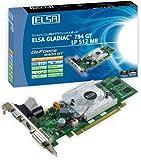ELSA ビデオカードELSA GLADIAC 794GT LP 512MB GD794-512ERGL