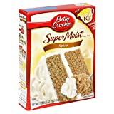 Betty Crocker Supermoist Cake Mix, Spice, 18.25-Ounce Boxes (Pack of 12) ~ Betty Crocker Baking