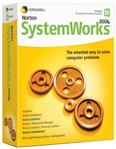 Norton Systemworks 2004 Upgrade (AntiVirus, Utilities, Cleansweep, GoBack, Password Manager)