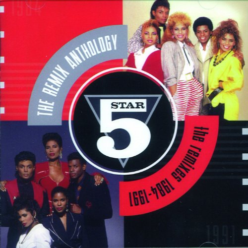 Five Star - Remix Anthology: Remixes 1984 - 1991 - Zortam Music