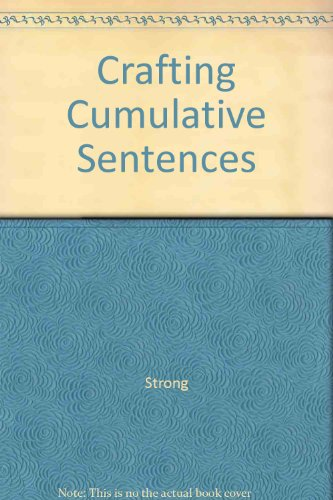 Crafting Cumulative Sentences PDF