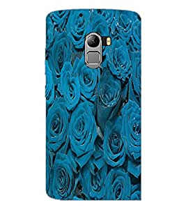 PrintDhaba Roses D-3436 Back Case Cover for LENOVO K4 NOTE A7010a48 (Multi-Coloured)