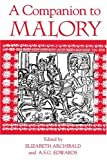 img - for A Companion to Malory (Arthurian Studies) book / textbook / text book