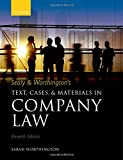Sealy and Worthington's Text, Cases, and Materials in Company Law