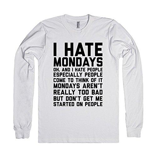 I Hate Mondays and People | T-Shirt XLarge