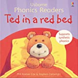 Phil Roxbee Cox Ted in a red bed (Usborne Phonics Readers)