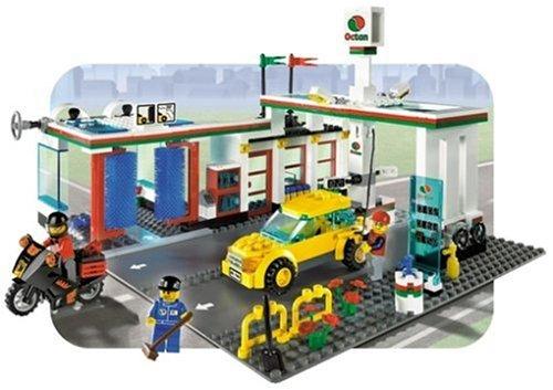 jeux de construction lego city jeu de construction la station service on sale. Black Bedroom Furniture Sets. Home Design Ideas