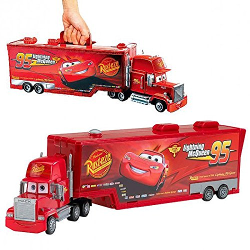 disney cars 2 mack truck camion transporteur tronco del veicolo. Black Bedroom Furniture Sets. Home Design Ideas