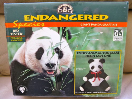 ENDANGERED SPECIES GIANT PANDA CRAFT KIT