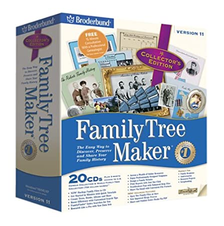 Family Tree Maker Collectors Edition