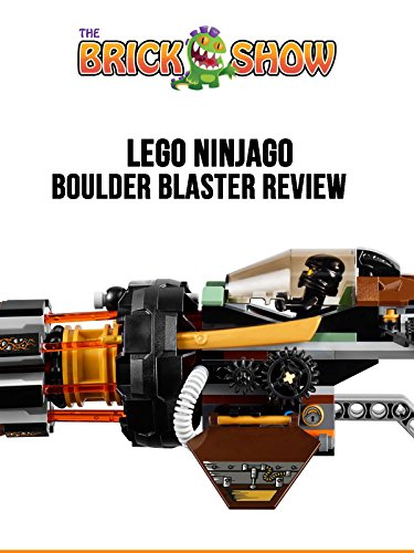 LEGO Ninjago Boulder Blaster 70747 Review on Amazon Prime Video UK
