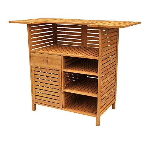 Leisure Season OB4727 Outdoor Bar with Storage