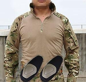 Tactical tir militaire Armée EDR hommes Gen3 G3 Combat Chemise à manches longuesavec coudières pour Airsoft Multicam MC