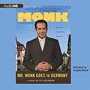 Mr. Monk Goes to Germany Audiobook