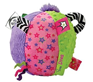 Kids Preferred Label Loveys Chime Ball, Little Diva
