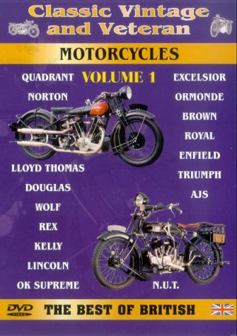 Classic Vintage And Veteran Motorcycles - Vol. 1 [DVD]