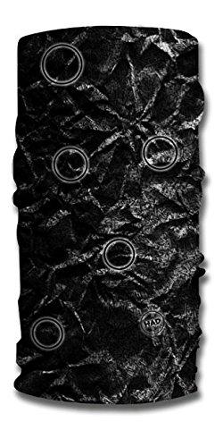had-moon-foulard-multifonctionnel-reflechissant-crumpler-reflective-noir