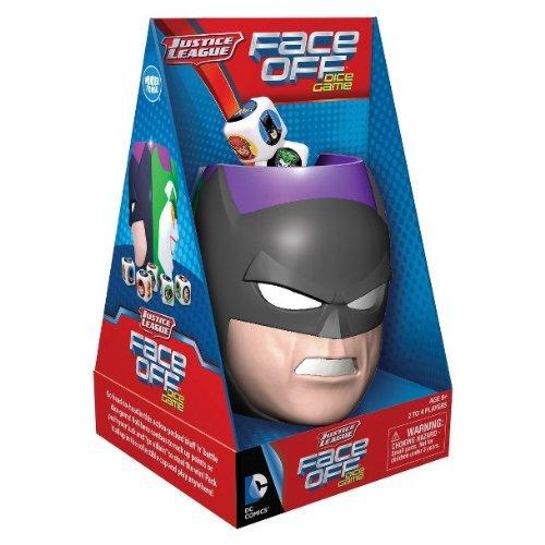 Justice League Face Off Dice Game