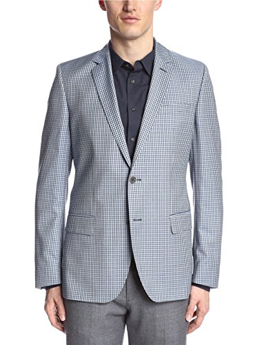 Hugo Boss Men's Check Wool Sportcoat