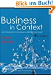 Business in Context: An Introduction...