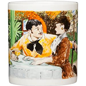 Edouard Manet - At Pere La Thuilles - 14oz Coffee Mug