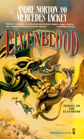 Elvenblood (Halfblood Chronicles), Andre Norton, Mercedes Lackey