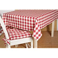 Country Style Picnic Red Check Table Topper 40x40