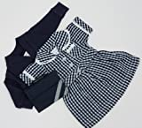 NAVY DOLLS SUMMER SCHOOL UNIFORM FOR DOLLS 14-18INS[35-45 CM]DOLL NOT INCLUDEDTo fit dolls such as American Girl,Hannah by Gotz,Design a Friend Doll,Kidz and Cats,Precious Day Doll,Happy Kidz and many more dolls of this height