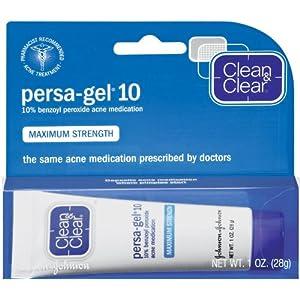 Clean & Clear Persa-Gel 10, Maximum Strength 1