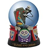 Westland Giftware Water Globe Figurine, 85mm, Disney Nightmare Before Christmas Celebrating Our Love