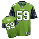 Reebok Seattle Seahawks Aaron Curry Premier Alternate Jersey Extra Large at Amazon.com
