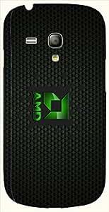 Significant multicolor printed protective REBEL mobile back cover for S3 Mini / Samsung I8190 Galaxy S III mini D.No.N-L-11208-S3M